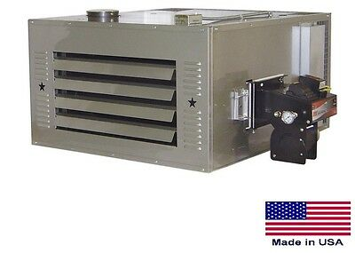 WASTE OIL HEATER Commercial - 150,000 BTU - Incl TR Chimney Kit & 80 Gal Tank