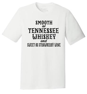 Mens Smooth As Tennessee Whiskey Tri-Blend Tee Alcohol Country Redneck Party