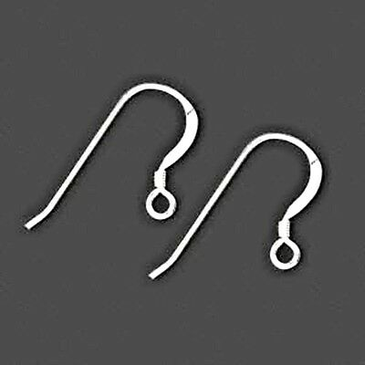 925 Sterling Silver Earring Findings Hooks Earwires 20pcs Pure French