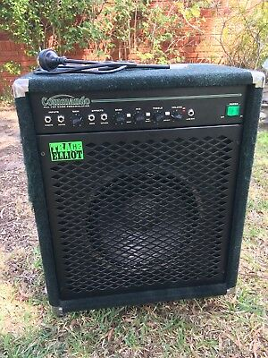 Trace Elliot Commando 100W / 200W Bass Amp Made In England / Britain