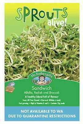 Sprouts Alive Sandwich Mix by Mr Fothergills - Nature's Superfood