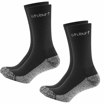 Stuburt 2018 Mens Dri-Back Cushioned Crew Golf Socks - Pack Of 2