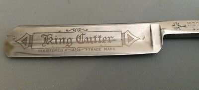Made in 1908, Antique King Cutter Straight Razor
