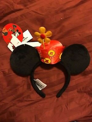 Brand New Disney Parks 2018 Lunar New Year Minnie Ears