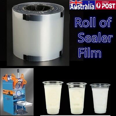 AU 1900 Cups/Roll Cup Sealer Clear Sealing Film Automatic Drink Sealing Machine