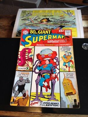 1965 DC Comic Superman 80pg Giant Issue No 6