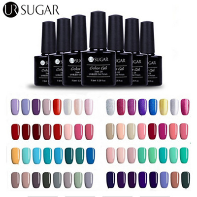 26 Colors UR SUGAR UV Gel Nail Polish Soak off Color Gel Varnish Manicure Decor