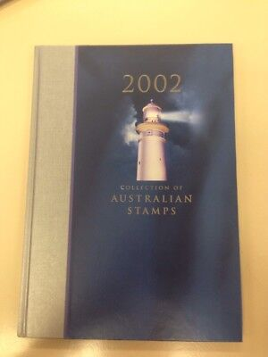2002 Collection Of Australian Stamps ALBUM ONLY- NO STAMPS