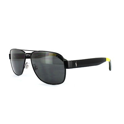 cf98cbf868a POLO RALPH LAUREN Sunglasses 3097 930487 Shiny Black Dark Grey - EUR ...