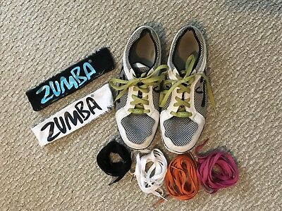 Zumba Shoes Size 8, Dance Shoes, workout shoes, indoor Zumba shoes