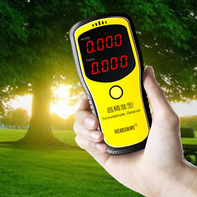 Digital Formaldehyde Detector Indoor Office Car HCHO TVOC Air Quality Tester