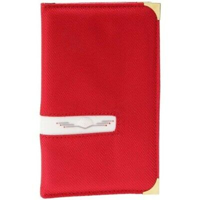 Red Deluxe Golf Scorecard Holder - Longridge Great Gift Free Uk