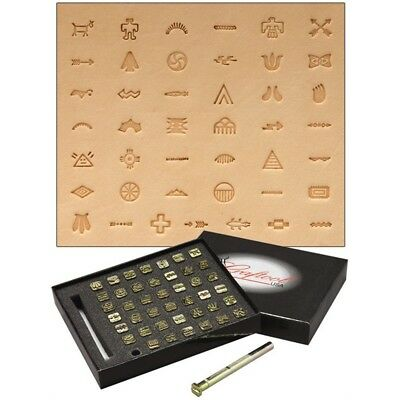 Native American Leather Stamping Set - Stamp Factory Symbol 816000 Setsymbols