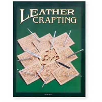 Lederhandbuchbuch Crafting - Leather Book Leather Carving Lacing Dyeing