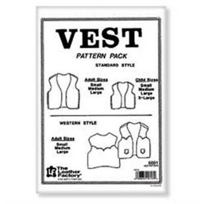 Leather Vest Pattern Pack - Pack