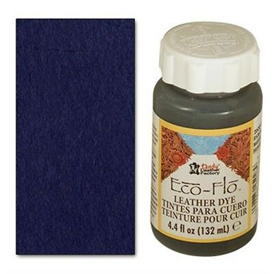 4oz Evening Blue Eco Leather Dye - Flo Colour Leathercraft Tandy 260012