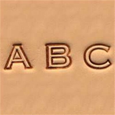 Open Face Alphabet Leather Stamp Set - 1 4 06cm Emboss Tool Tandy 490900