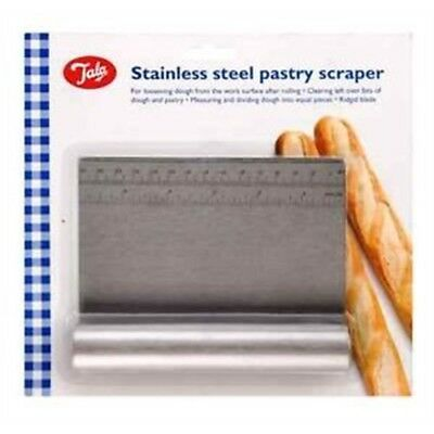 Tala S/s Scraper 12/48 - Pastry Stainless Steel Dough 10a00983