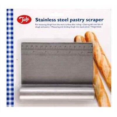 Tala Stainless Steel Pastry Scraper - Dough 10a00983