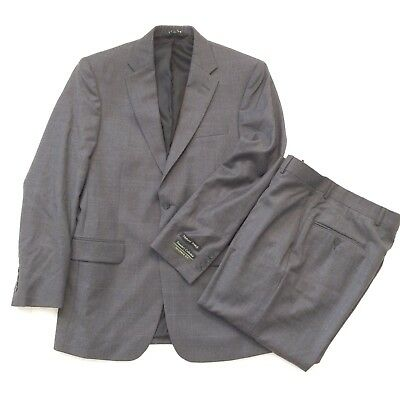 Jos. A. Bank Gray Tailored fit Natural stretch suit 40L NWOT
