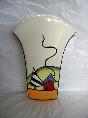 Lorna Bailey Vase Porthill Flared Design Art Deco Collectable Brand New Signed
