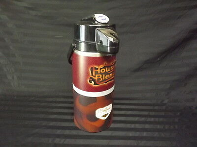 Curtis 2.2 Liter Coffee Airpot Used House Blend Turkey Hill Coffee Central works