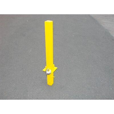 Fold Down Security Parking Post - Maypole Bollard 9739