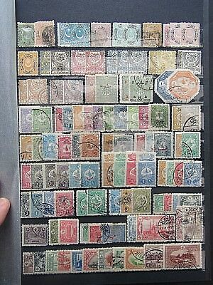 Turkey - Substantial M & U Collection On Large Ds Stocksheet And In Old Envelope