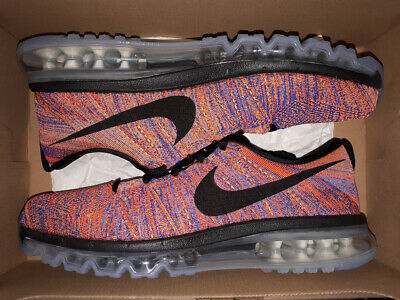 sports shoes c95f3 98dd3 NIKE FLYKNIT MAX TOTAL CRIMSONPHOTO BLUE US 9,5-11 air 620469