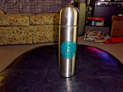 Vacuum Flask Unbreakable Stainless Steel Coffee Hot/Cold Bev Thermos 750ml 3 Cup