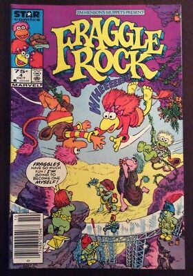 Fraggle Rock #4 High  Grade Issue .75 Cents Canadian Price Variant / Edition