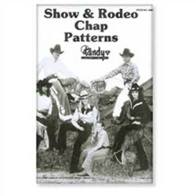 Tandy Leder Show & Rodeo Chap Muster Packung 62665-00 - Pattern Pack