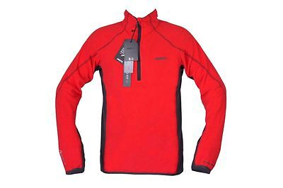 Musto Herren Fleece Pullover Arctec160 True Red Segeljacke