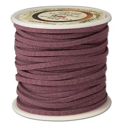 "Tandy Leather Eco-soft Lace 1/8"" x 25 Yds (3mm x 22.9 M) Purple 5029-12 -"