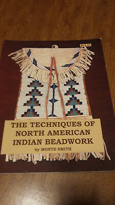 Book New Techniques Of North American Indian Beadwork By Monte Smith