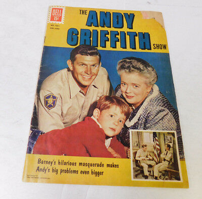 The Andy Griffitn Show Comic Book No. 1341 April-June 1962 Mayberry Enterprises