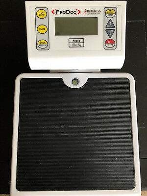 ProDoc Detecto PD200 battery operated scale