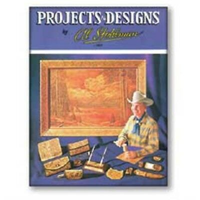 Leathercraft Projects & Designs Book - Leather Patterns How To Tandy 61937-00