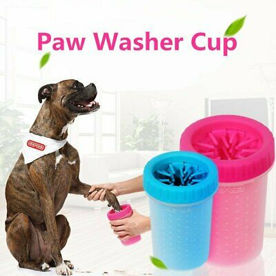 New Pet Paw Plunger Mud Cleaner Washer Mudbuster Portable Dog Cat Pet Paw Cup
