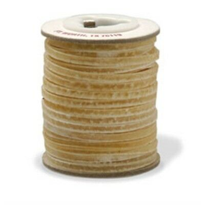Rawhide Lace 1/8in x 20yds - 18in 03cm Leather Lacing Braiding Tandy