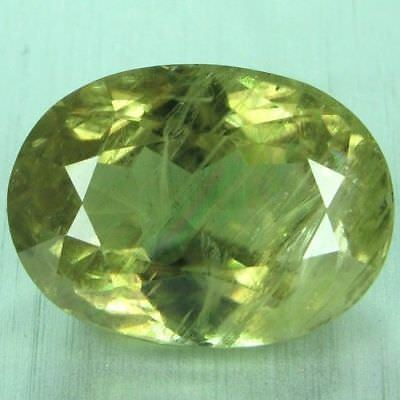 9.03 CTS - World Class Topest Gemmy 100 % Natural Color Change Diaspore - Turkey