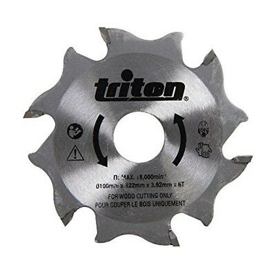 Triton Biscuit Jointer Blade 100mm Tbjc Replacement Blade - 899068
