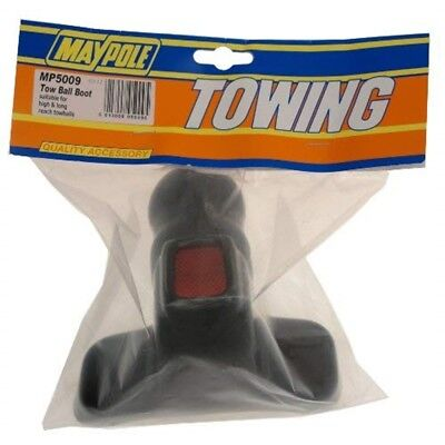 Pvc High Reach Towball Boot With Reflector - Maypole Hi Tow Ball Red Cover Alko