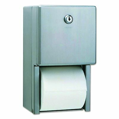 Bobrick B-2888 Classic Series Surface-Mounted Multi-Roll Toilet Tissue Dispenser