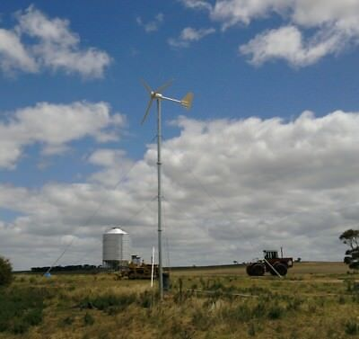 3KW Wind Power Turbine LOW WIND 3000W Generator Complete System Shipped  by Sea