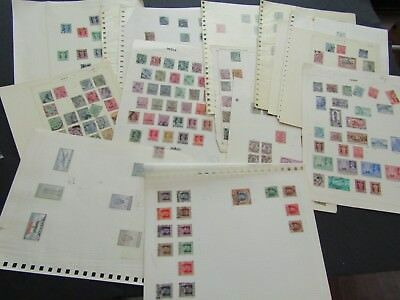India - Early/mid Period Collection On 32 Album Pages - Mint And Used