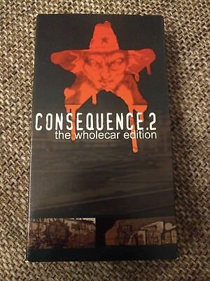 Consequence 2 the Wholecar edition Graffiti Video Magazin VHS