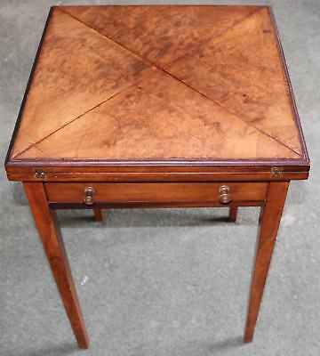 Antique Folding Card / Games Table