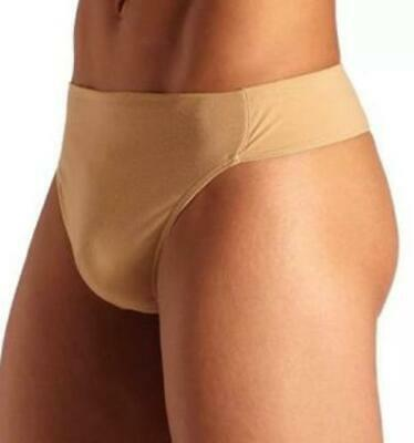 New Capezio Men's Reinforced Dance Belt - Nude Thong Belt N26