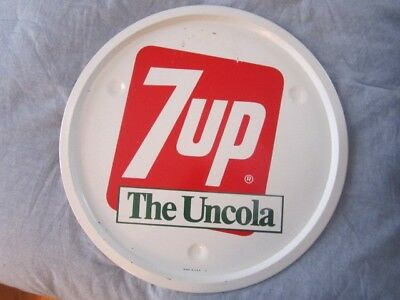 Super Vintage 1970S 7Up The Uncola Advertising Tray